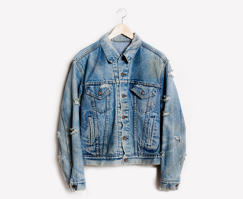 RWDZ x Levis Distressed Vintage Jacket | RUNWAYDREAMZ