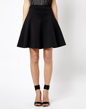 Whistles | Whistles Bailey Skirt in Neoprene at ASOS