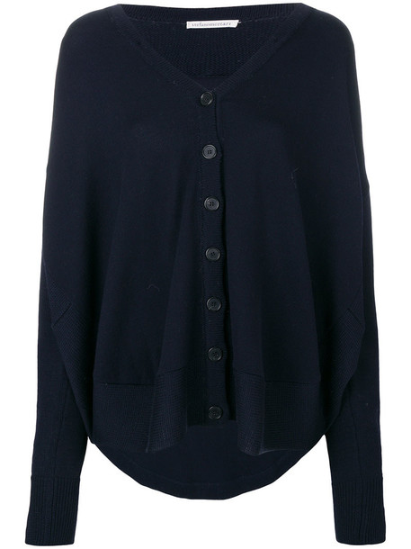 Stefano Mortari cardigan cardigan women blue wool sweater