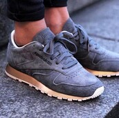 shoes,gold,reebok classic,Reebok,grey