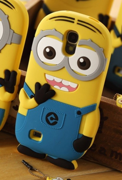 BoxyTech.com 3D Two Eyes Minion Despicable Me Case for Galaxy S4
