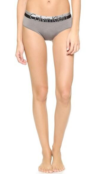panties hipster grey underwear