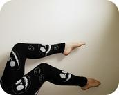 pants,leggings,nightmare before christmas,disney,jack skellington,christmas leggings