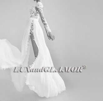 dress long sleeve lace wedding dress side slit wedding dress flowy wedding dress bridal long sleeve dress wedding dress white dress white ivory dress ivory ivory wedding dress white wedding dress lace dress lace long sleeve dress long sleeve wedding dress long sleeve lace dress side slit side slit maxi dress flowy flowy dress bridal gown bridal dress bridal lace dress