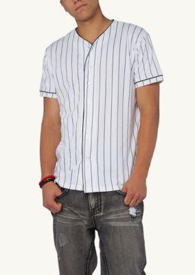 Pinstripe Baseball Jersey