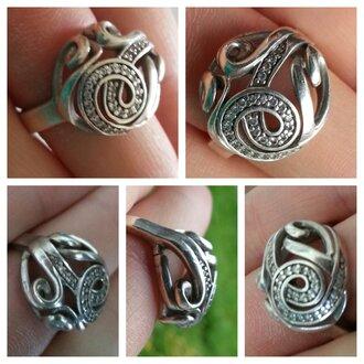 jewels bague ring finger rings argent alliance bagues jolie bague