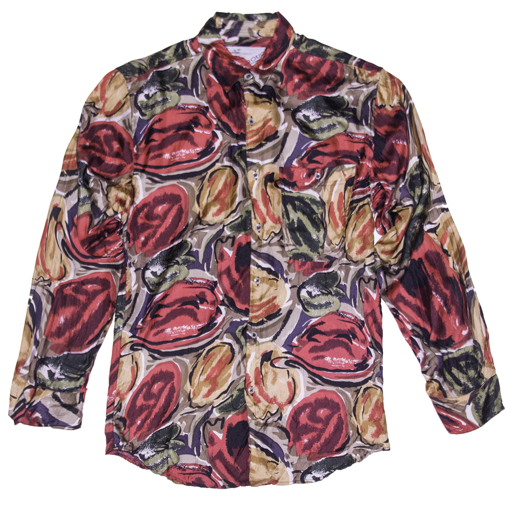 Goouch mtv silk shirt