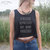 Stressed Depressed Boy Band Obsessed Crop Tank Top Funny Slogan