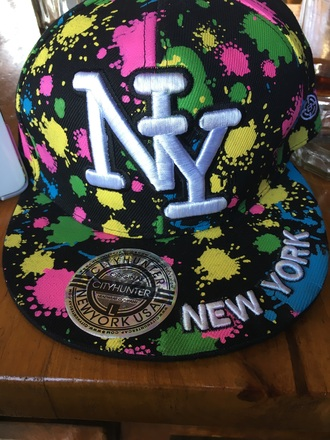 hat multicolor cap