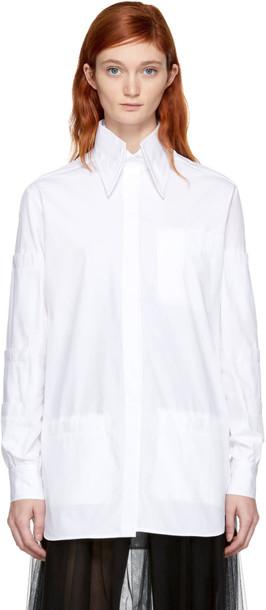 CHRISTOPHER KANE shirt white top