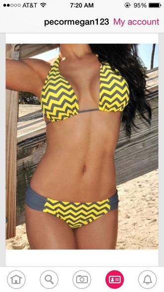 swimwear style bikini black bikini yellow top bikini top bikini bottoms patterned bikini bottoms