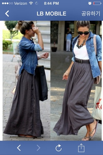 skirt maxi skirt maxi dress grey dress grey skirt gray skirt gray maxi skirt gray maxi gray maxi dress black dress black skirt black maxi dress black maxi skirt blackmaxidress maxi blouse earphones hair accessory dress