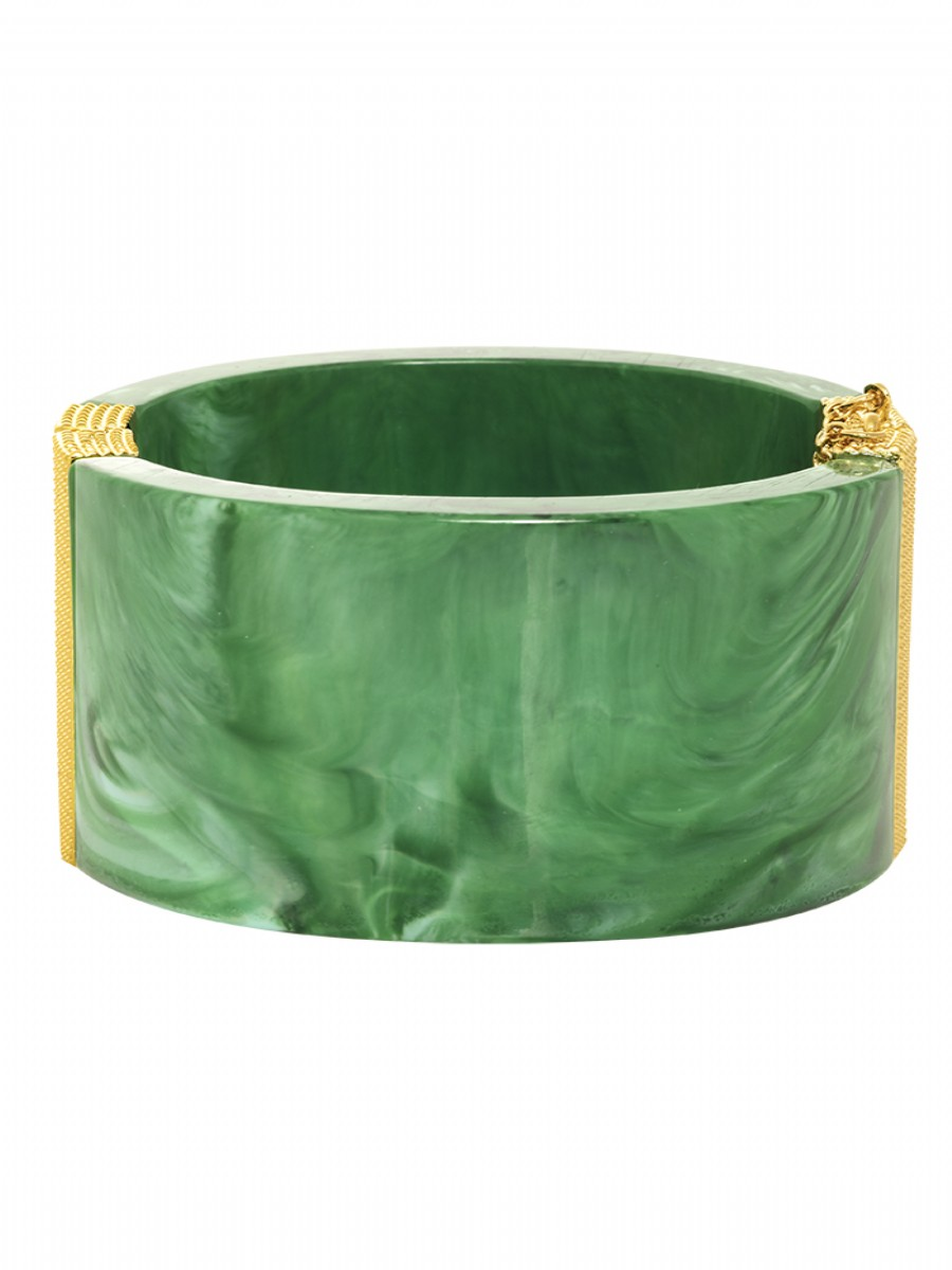 Classic resin cuff green