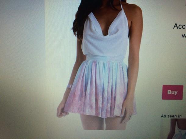 dress mint galaxy