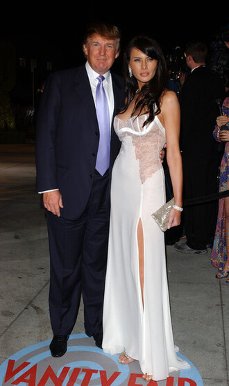 pants donald trump melania trump menswear mens pants mens shirt mens suit mens blazer white dress slit dress tube dress long dress cocktail dress red carpet dress metallic clutch clutch
