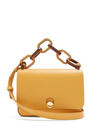 spring bag leather tan light