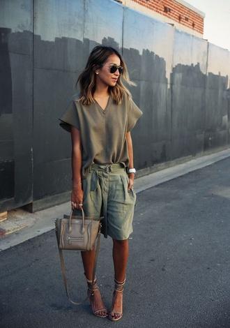 shirt khaki olive plane vintage shirt celine