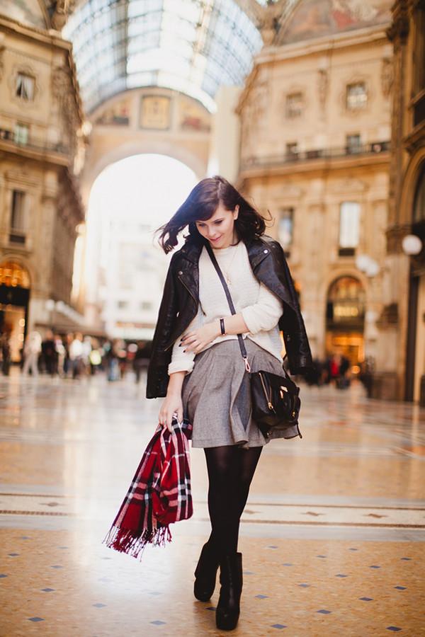 wish wish wish jacket sweater skirt shoes scarf bag jewels