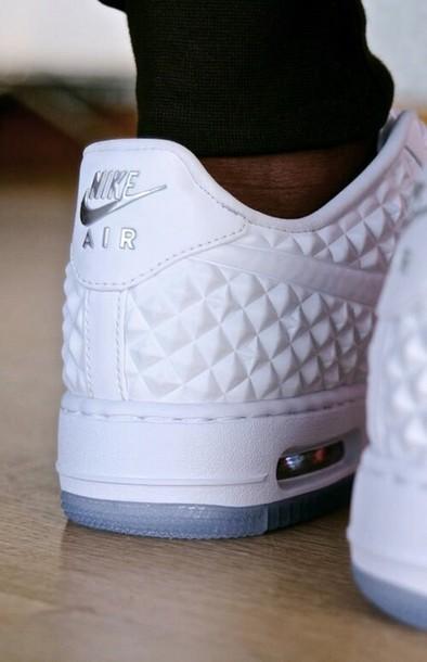 shoes nike air white white shoes nike white silver nike white nike air force one