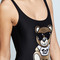 Moschino toy bear graphic swimsuit