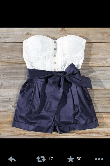 shorts navy, romper, shorts,