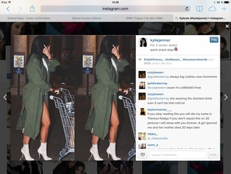 shoes white high heels mocha leather boots kylie jenner