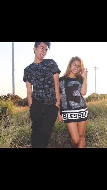 shirt fashion dope t-shirt style oversized black t-shirt girly bless