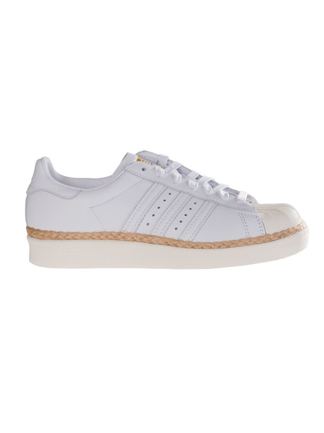 Adidas Superstar 80s New Bold Sneakers in white