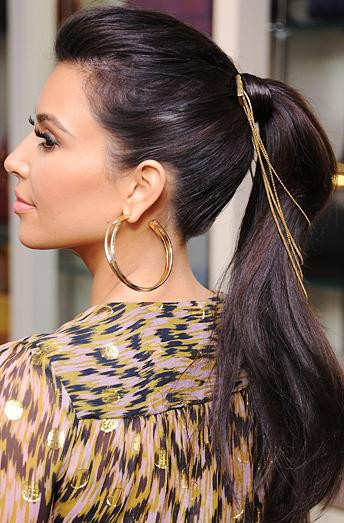 Chain hair accessorie kim kardashian style kardashians accessories