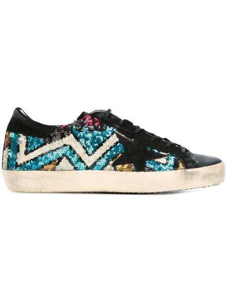 GOLDEN GOOSE DELUXE BRAND women sneakers cotton black shoes