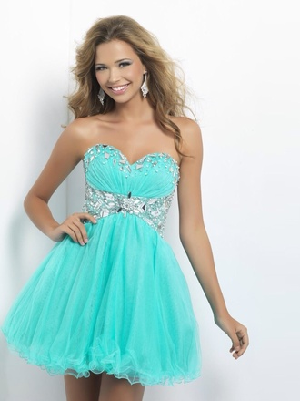 bustier dress prom dress grad dress dressy mint mint dress strapless tube dress sparkly tube tutu tutu dress mint dress prom cute