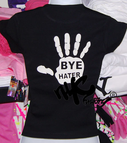 Hi hater bye hater womens t