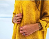 sweater,yellow,neon yellow,yellow top,yellow sweater,shirt,ocher,casual,casual chic,casual shirt,business casual,girl,girly,girl shirts,tumblr girl,summer,summer outfits,summer top,autumn/winter,jumper sweater autumn winter love,autumnal,autumn shirt,jewels,jewelry,silver jewelry,brunette