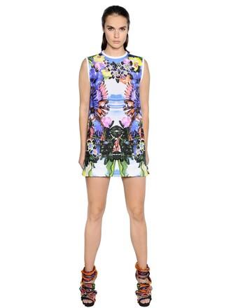dress cotton print exotic print