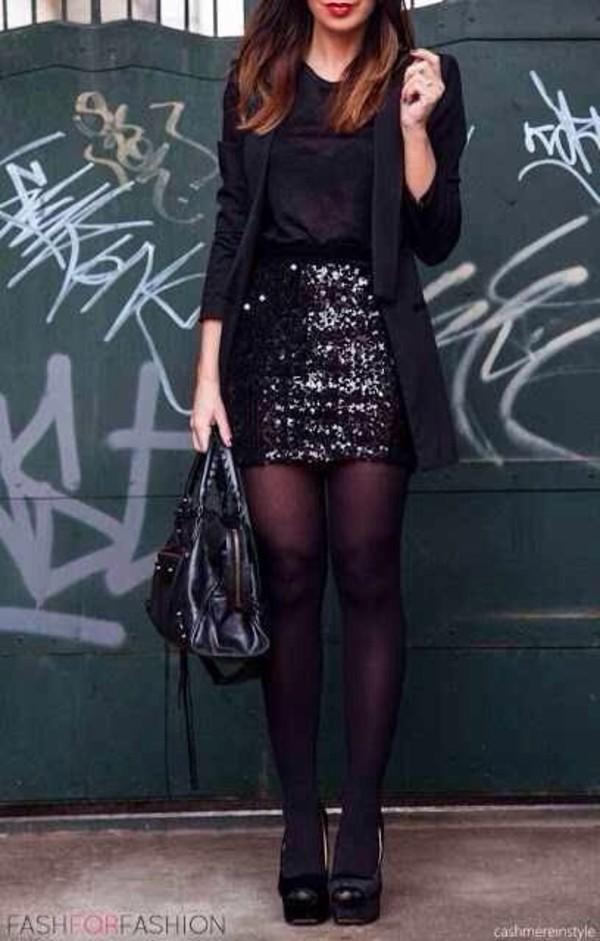 skirt sequins black black skirt sequin skirt jacket spakley glitter skirt new years eve outfit black sparkly skirt dress black sequin mini skirt longline blazer