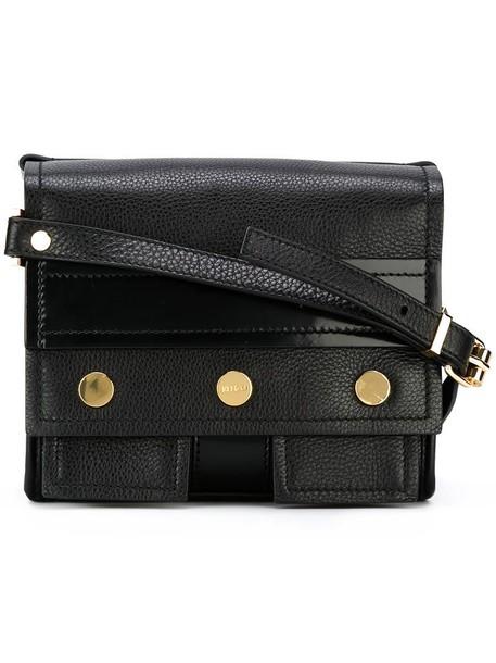 Kenzo women bike bag shoulder bag black
