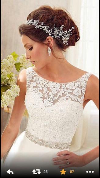 wedding dress white dress elegant dress prom dress
