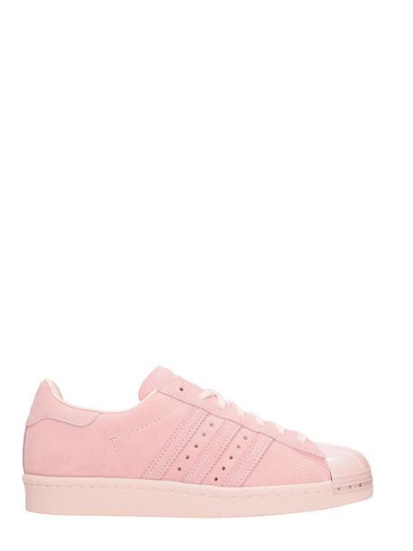 Adidas Superstar 80s Sneakers Pink Suede