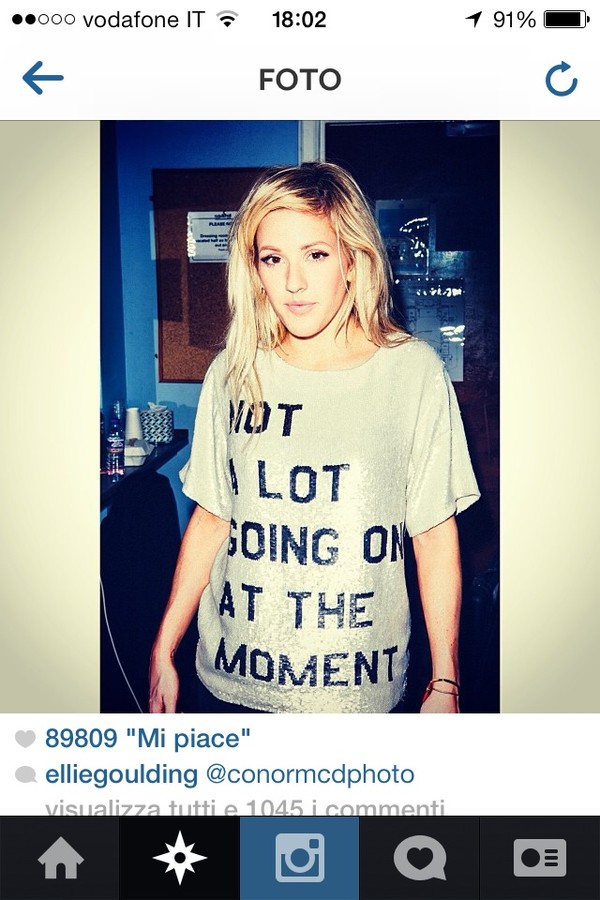 t-shirt elliegoulding instagram white t-shirt graphic tee