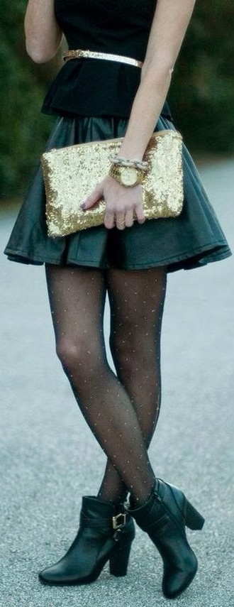 bag gold sequins clutch oversized metallic