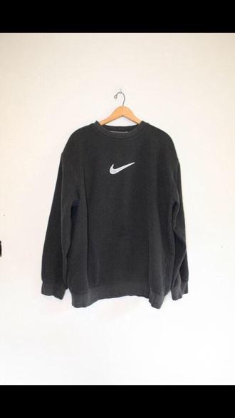 sweater black nike sweatshirt nike sweatshirt