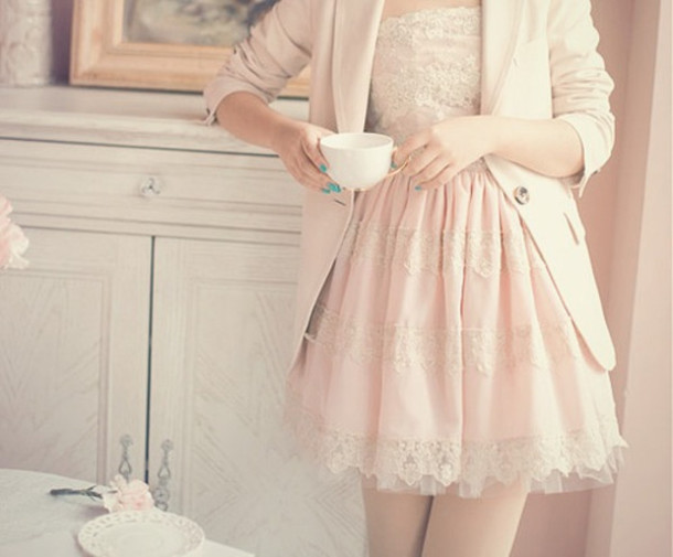 dress girl kfashion korean fashion pink dress