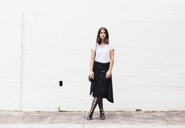 harper & harley t-shirt skirt shoes bag