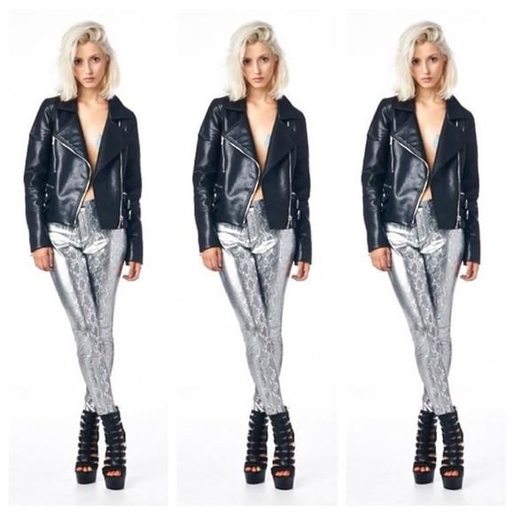pants snake print pants fashion