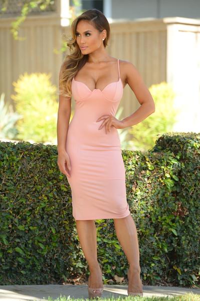 Rita Dress - Blush | Fashion Nova
