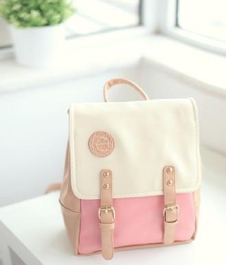bag pink korean pink bag cute cute bag