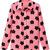 ROMWE | Black Floral Print Pink Shirt, The Latest Street Fashion