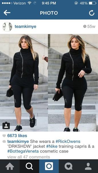 jacket kim kardashian sportswear