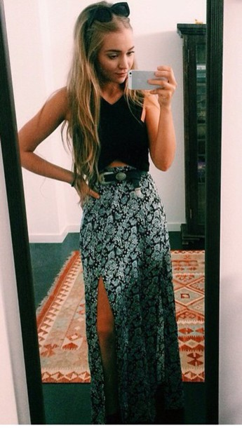 skirt long dress