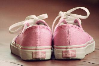 shoes pink cute vans girly pastel pastel pink tumblr baby pink sneakers